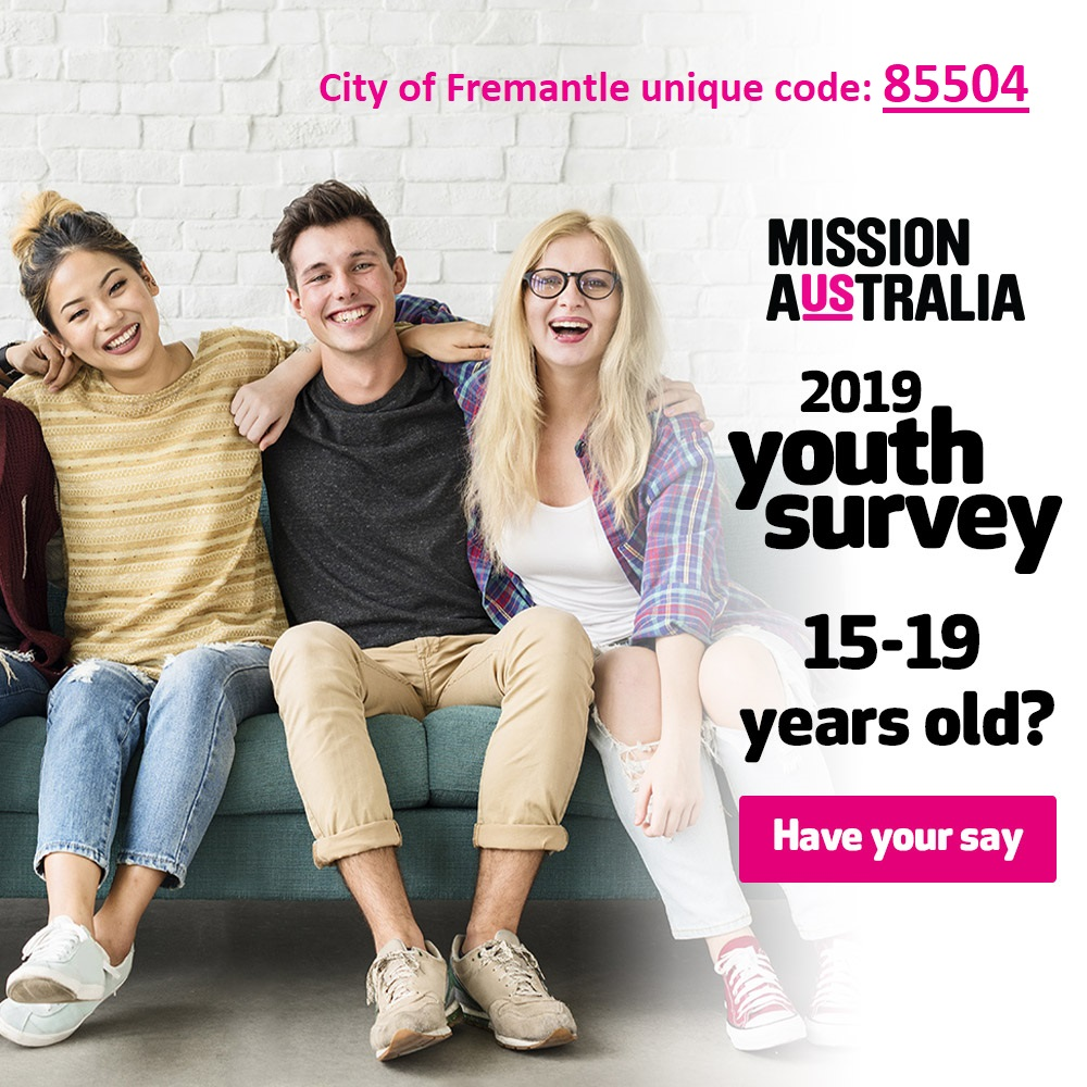 City of Fremantle Code 85504 for Mission Australia youth survey 2019