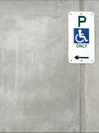 An ACROD bay parking sign.