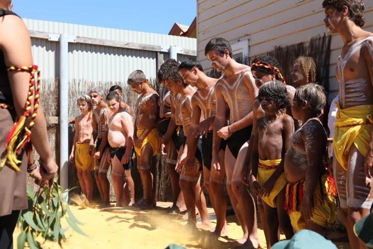 Walyalup Aboriginal Cultural Centre Nyoongar dance