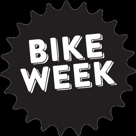 Logo of the Bike Week event