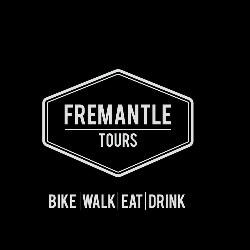 Fremantle Tours logo against a black backdrop