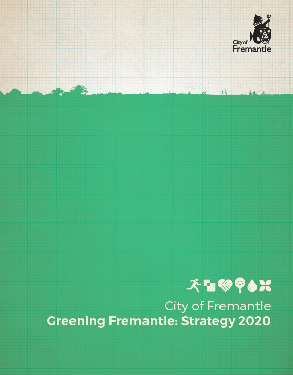 Cover of the Greening Fremantle document