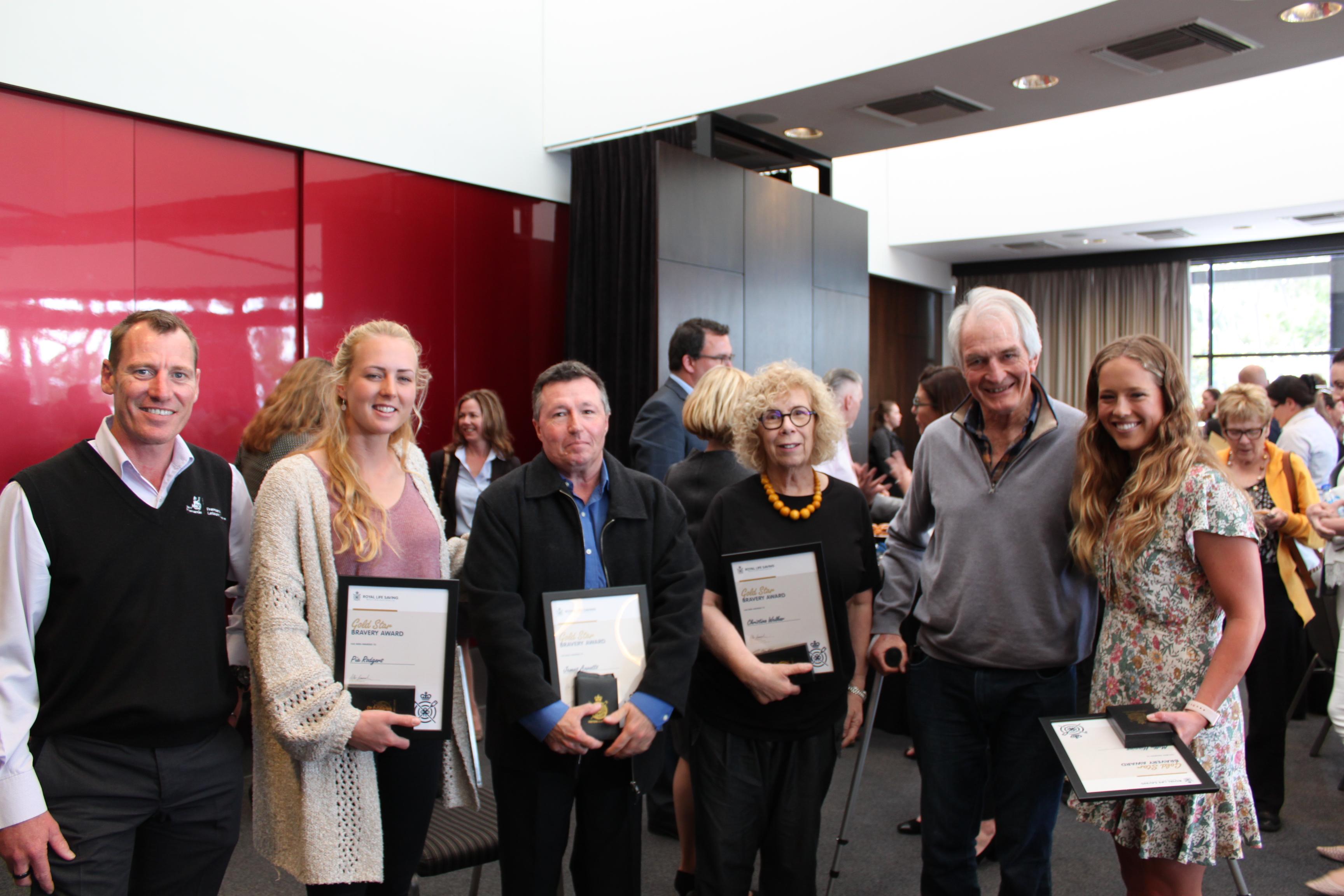 honour awards life rescue