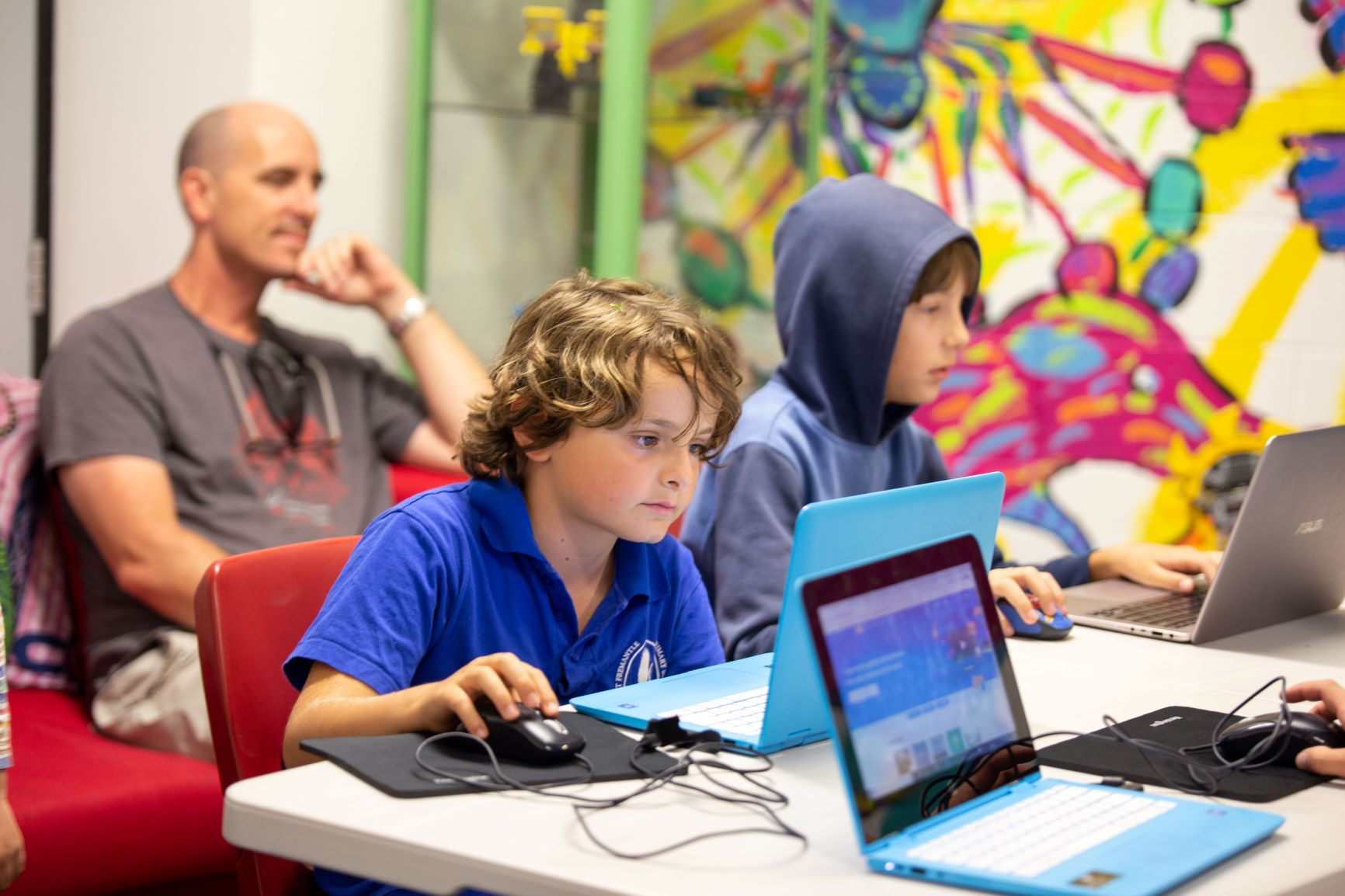 Coderdojo at Fremantle Library