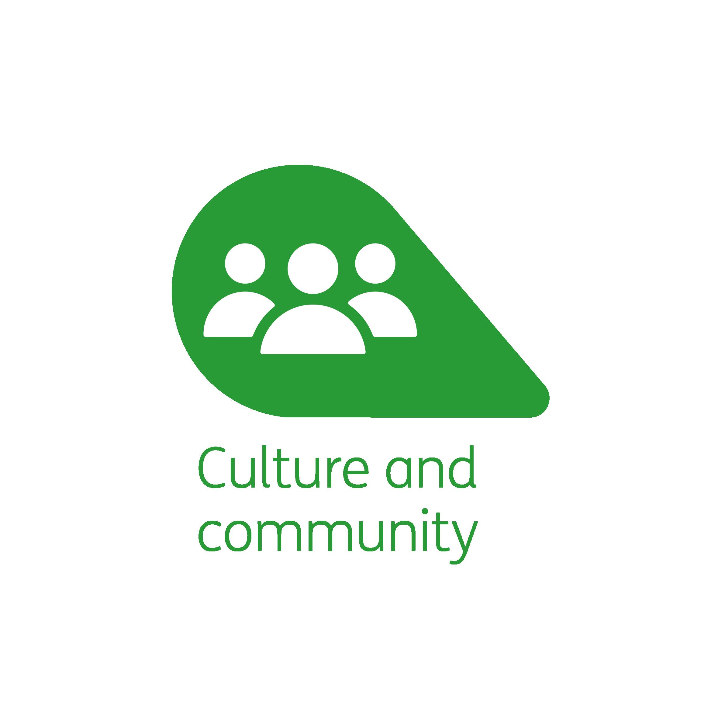 Culture and community petal