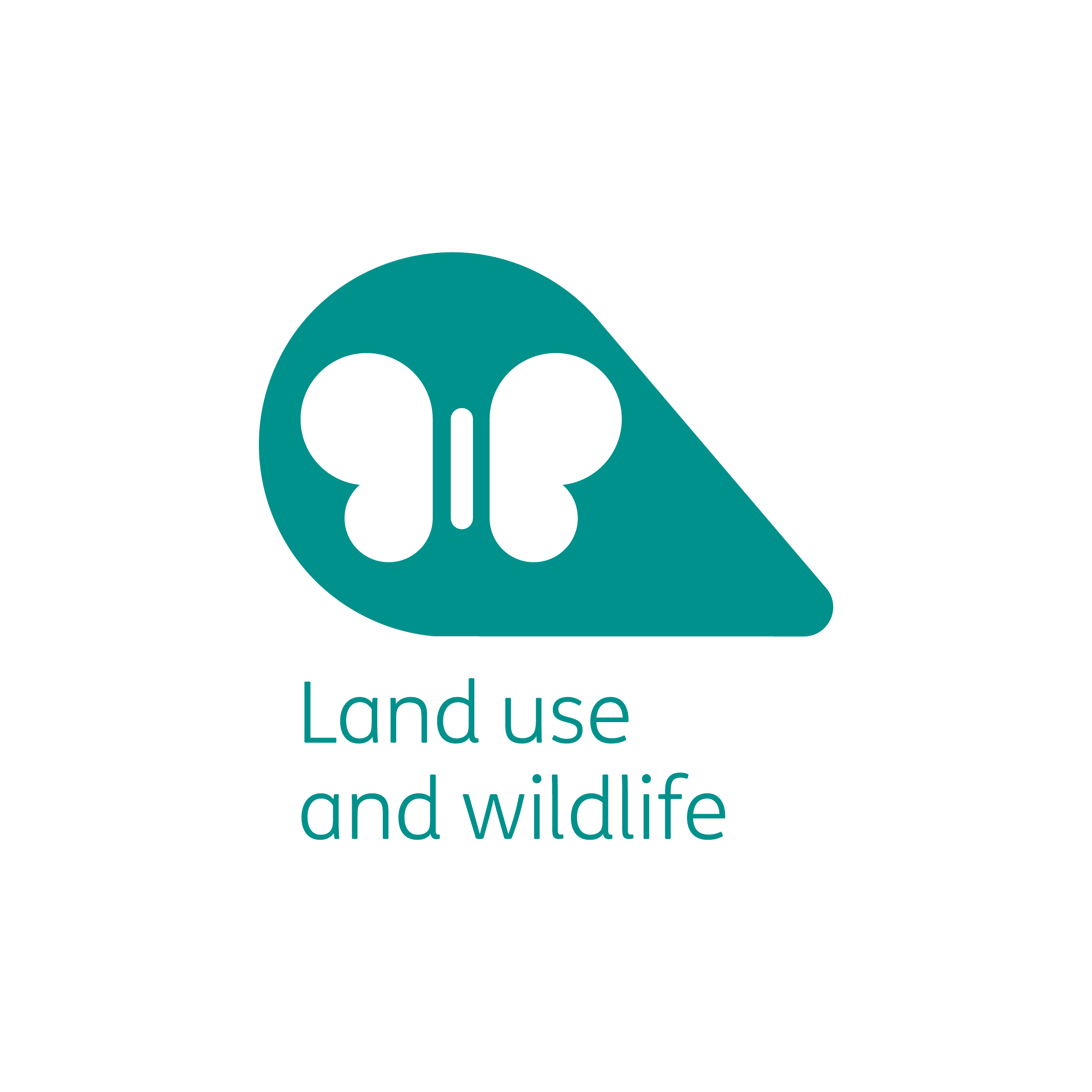 Land use and wildlife petal
