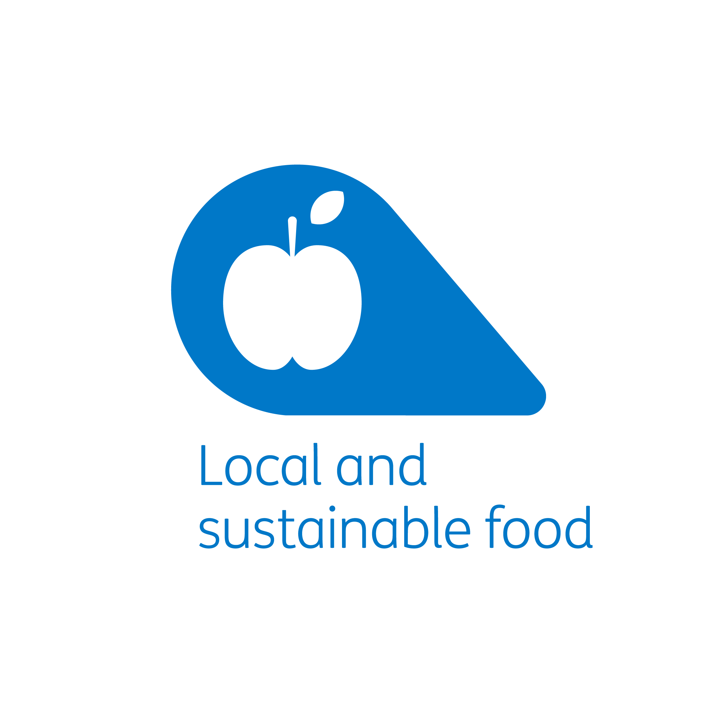 Local and sustainable food petal