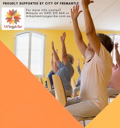 chair yoga advertisment