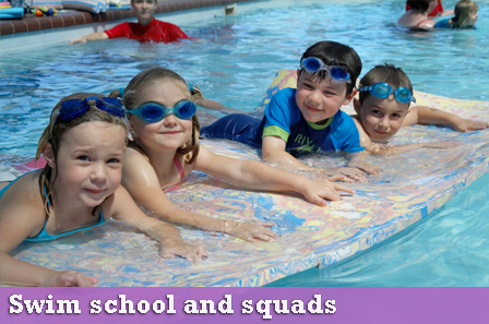 swim school and squads