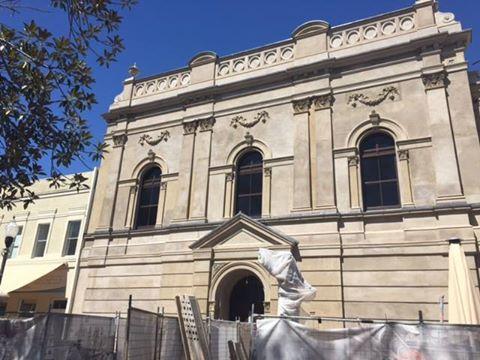 Town Hall restoration
