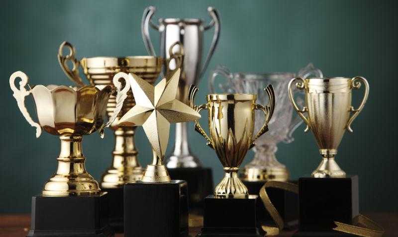 Miscellaneous sports trophies