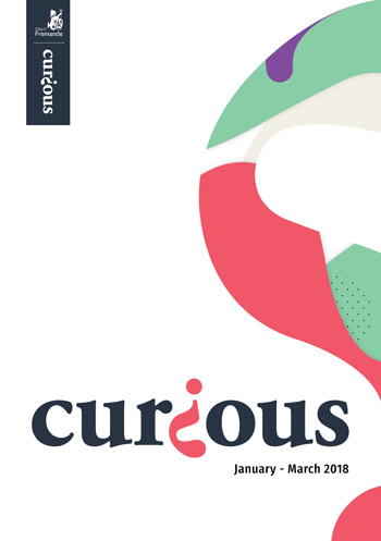 Cover of Curious for January to March 2018