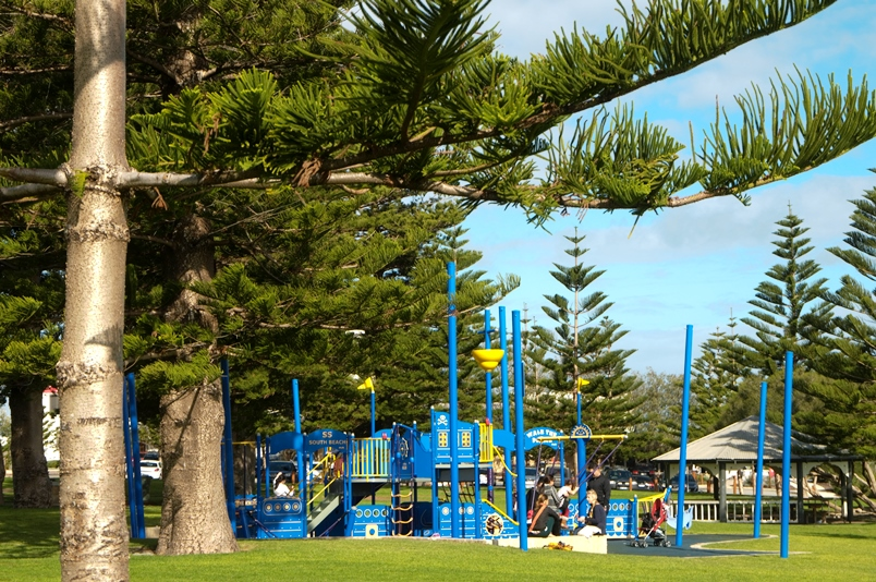 South Beach playground for children