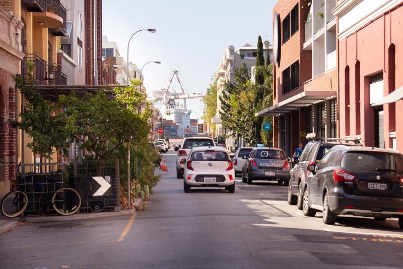 Resident parking in Fremantle