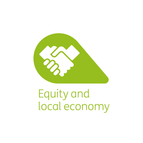 Equity and local economy petal