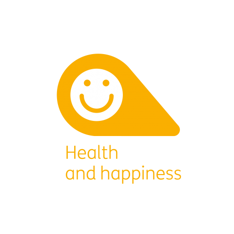 Health and happiness petal