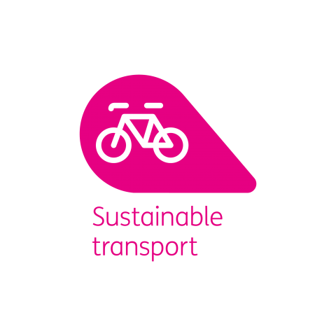 Sustainable transport petal