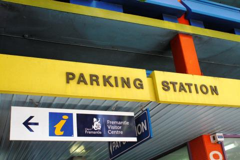 Queensgate parking station