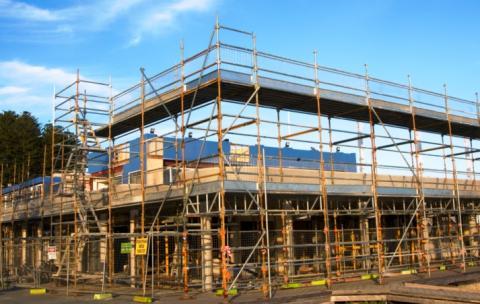 Building development in Fremantle