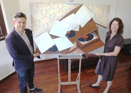 Signficant work donated to the City of Fremantle collection