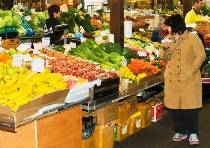 Local and sustainable food is available in Fremantle