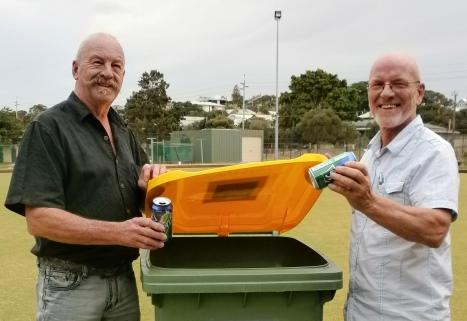 Councillors recycling their waste