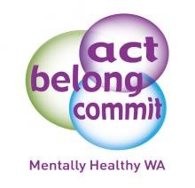 Act-Belong-Commit Mentally Healthy WA logo