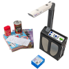 ReadEasy Move machine with examples of items that it can scan and read